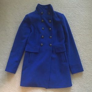 The Limited blue military jacket, XS